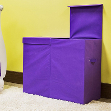 Two Sided Multiple Closed Laundry Hamper