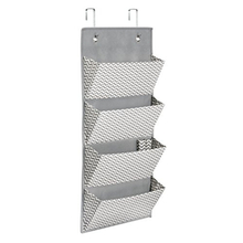 Hot Selling Hanging Wall File Storage Organizer with 4 Pockets