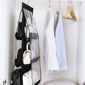 Wall Pocket Hanging Organizer Bag Storage Cubbies