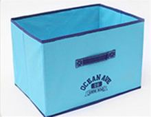 Buy blue green white ikea fabric storage boxes