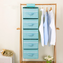 Hanging Necklace Organizer Closet with Compartments