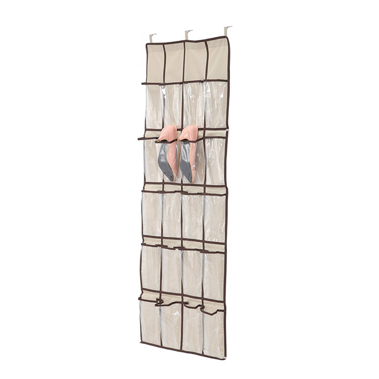 24 Pocket Design Storage Hanging Shoe Rack Bag Organizer