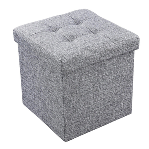 Wholesale Top Quality Storage Ottomans Foldable Stool